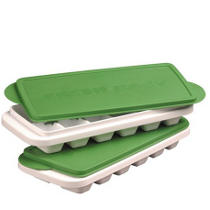 BPA-Free Ice Cube Trays (incl  Non-Plastic Molds)