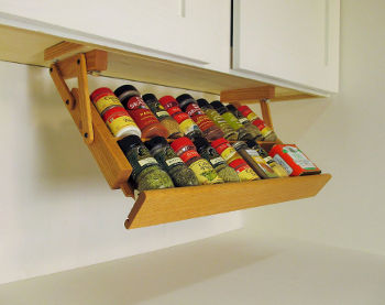 Pull Out Spice Rack : rubbermaid pull down cabinet spice rack - Cheerinfomania.Com