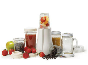 Single-Serve Blender with a Glass Container
