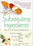 Substituting Ingredients Book