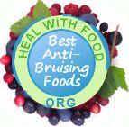 foods that heal bruises