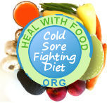 diet for cold sores