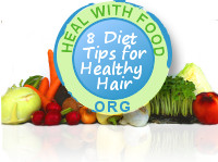 8 Diet Tips for Strong Hair