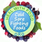 foods that prevent cold sores