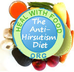 can a special diet stop hersutism?