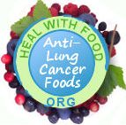 lung cancer preventing foods