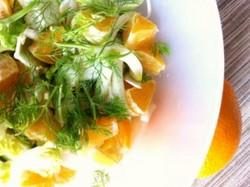Salad with Fennel Fronds