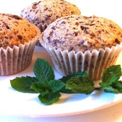 Dairy-Free Chocolate Chunk Muffins Featuring Chickpeas