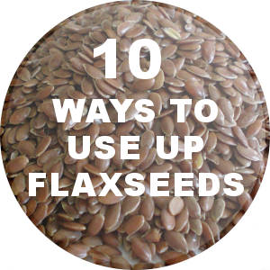 how to add flax seeds in your diet