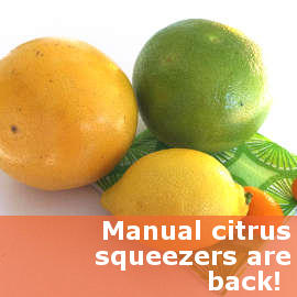 Why Get a Manual, Non-Plastic Citrus Squeezer