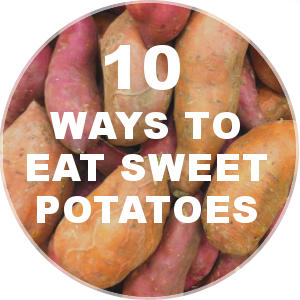 Sweet Potato Recipes - 10 Ideas